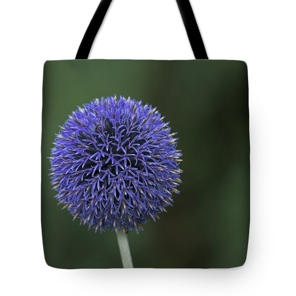 Bavarian Globe Thistle Tote Bag