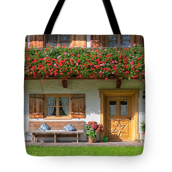 Tote Bag featuring the photograph Bavarianstyle by Juergen Klust
