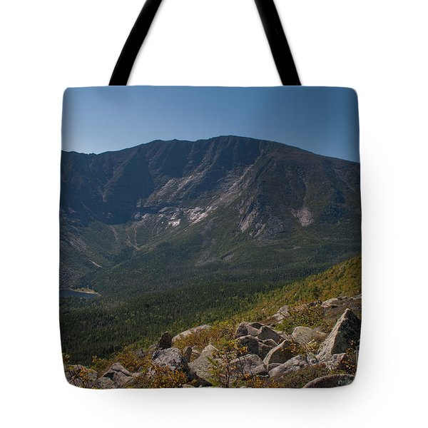 Tote Bag featuring the photograph Baxter Peak by Alana Ranney
