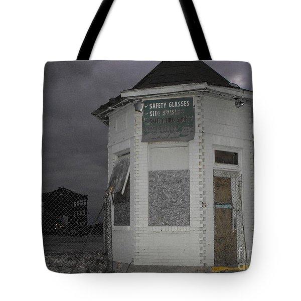 Bay City American Hoist Guard House Tote Bag