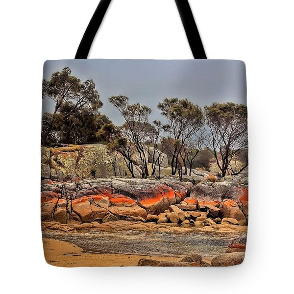 Tote Bag featuring the photograph Bay Of Fires 2 by Wallaroo Images
