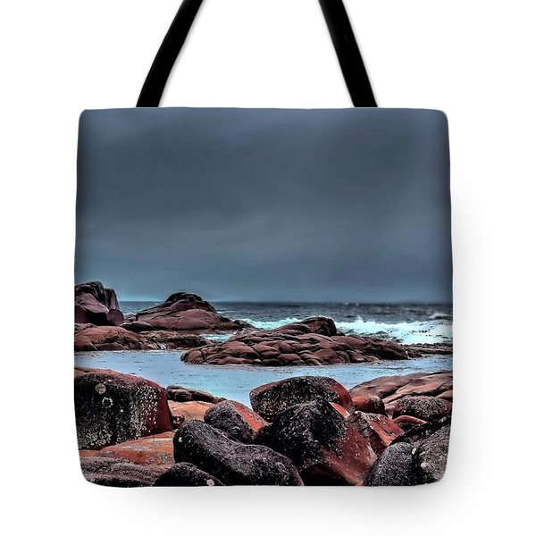 Tote Bag featuring the photograph Bay Of Fires 3 by Wallaroo Images