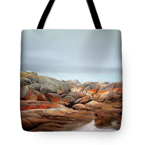 Tote Bag featuring the photograph Bay Of Fires 4 by Wallaroo Images