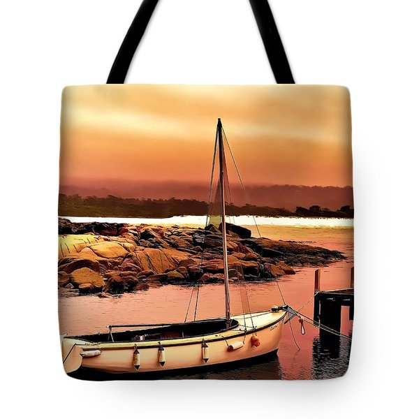 Tote Bag featuring the photograph Bay Of Fires 5 by Wallaroo Images