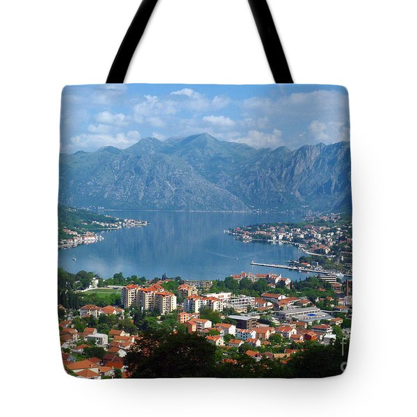 Bay Of Kotor - Montenegro Tote Bag