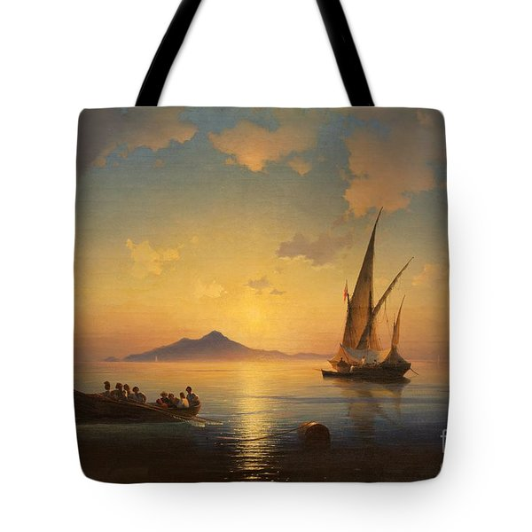 Bay Of Naples Tote Bag