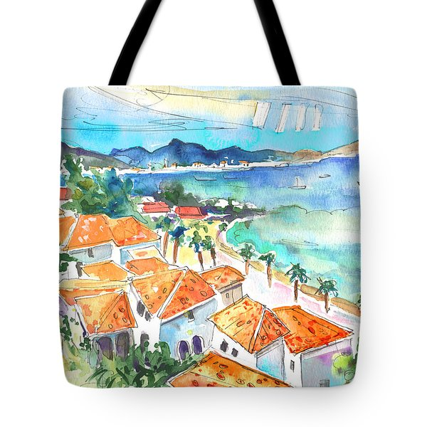Bay Of Saint Martin Tote Bag