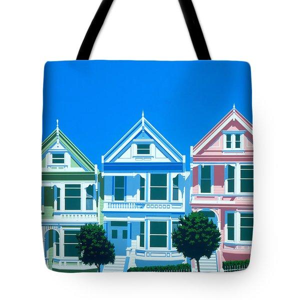 Bay View Tote Bag by Brian James