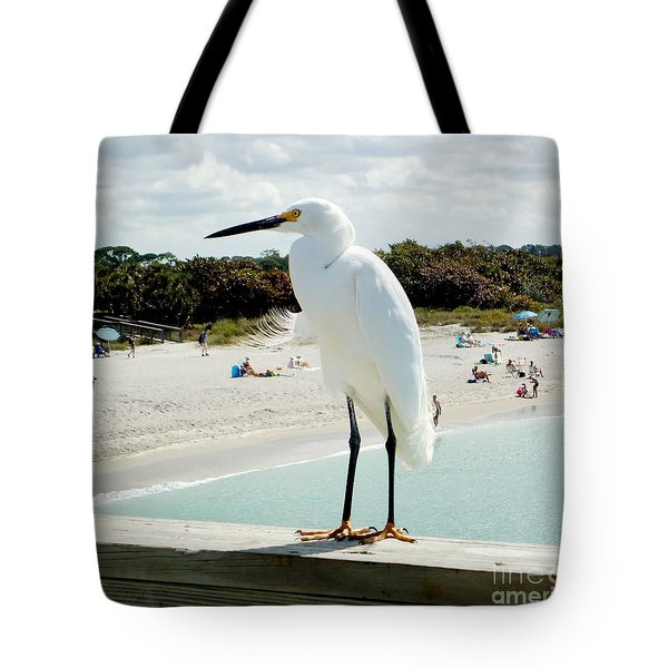 Bay Watch Tote Bag by Ann Johndro-Collins