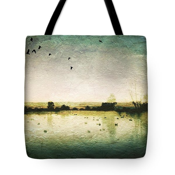 Baylands At Sunset Tote Bag