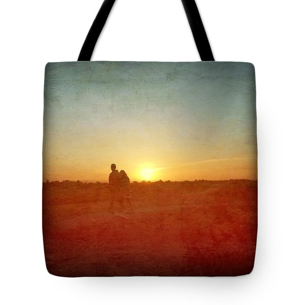 Baylands Sunset Tote Bag
