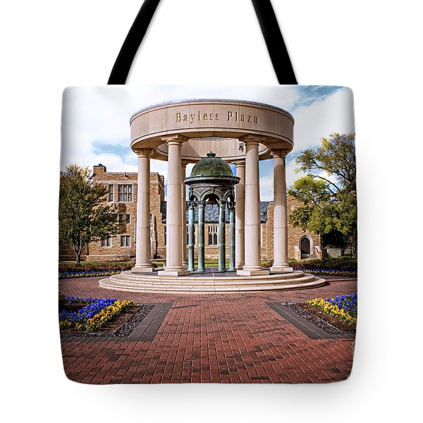 Bayless Plaza  Tote Bag by Tamyra Ayles