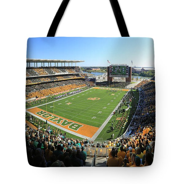 Baylor Gameday No 5 Tote Bag