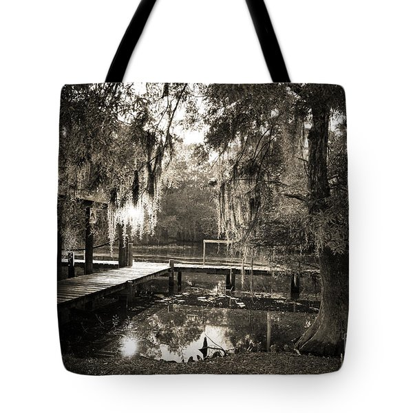 Bayou Evening Tote Bag by Scott Pellegrin