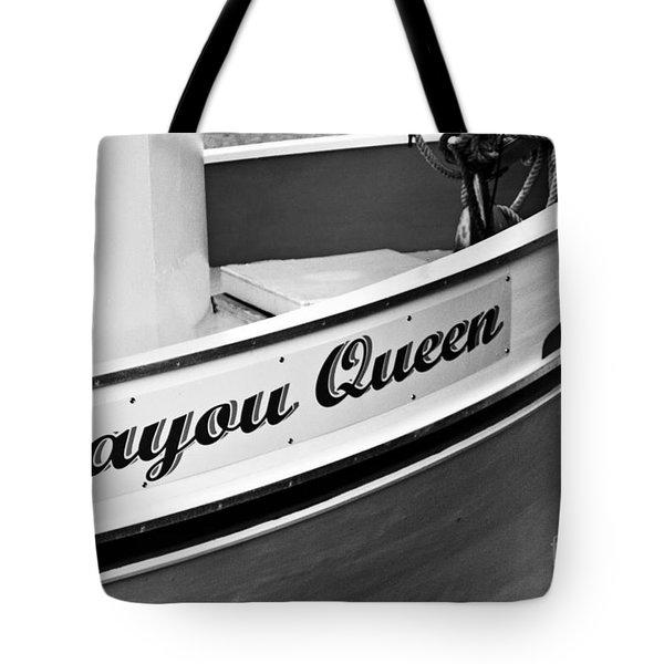 Bayou Queen Tote Bag by Scott Pellegrin