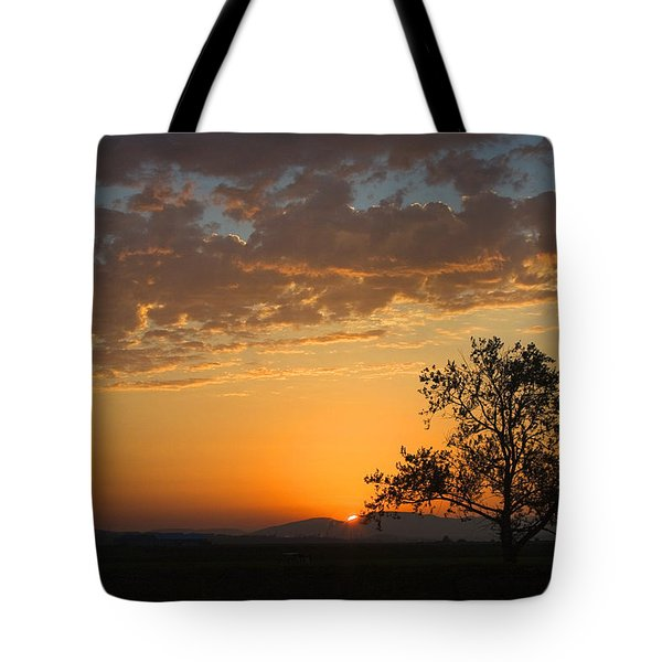 Tote Bag featuring the photograph Bayview Sunset by Sonya Lang