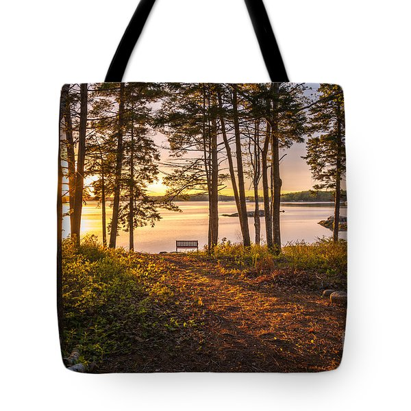 Bayview Sunset Tote Bag by Susan Cole Kelly