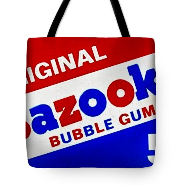 Bazooka Bubble Gum  Tote Bag