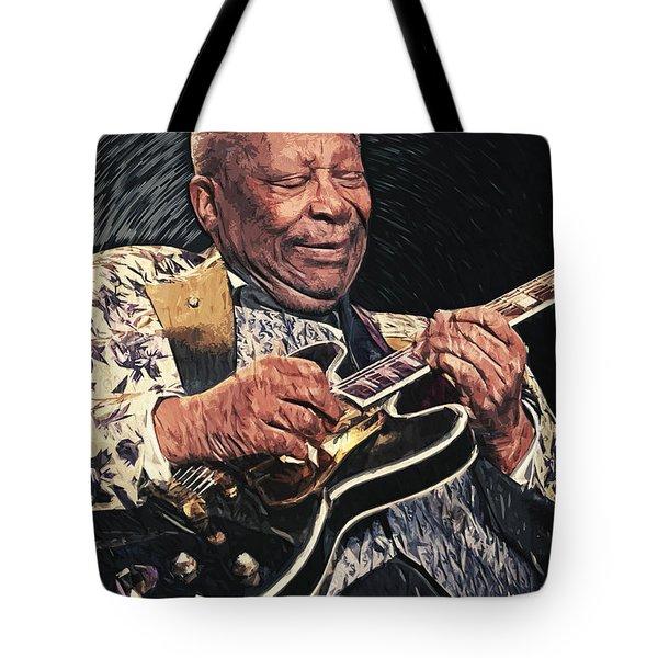 B.b. King II Tote Bag by Taylan Apukovska