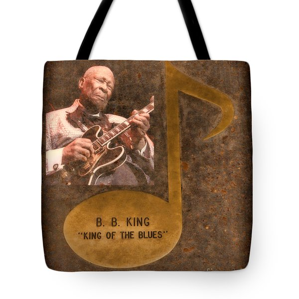 Bb King Note Tote Bag