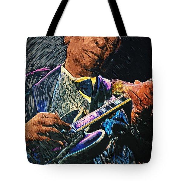 B.b. King Tote Bag by Taylan Apukovska