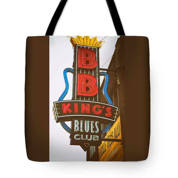 Bb King's Blues Club Tote Bag