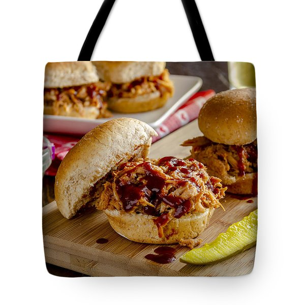 Bbq For Dinner Tote Bag