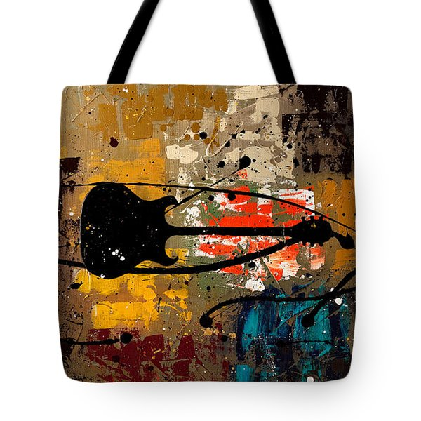 Be A Rock Star Tote Bag