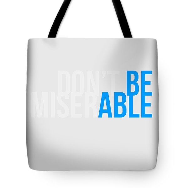 Be Able Poster Tote Bag