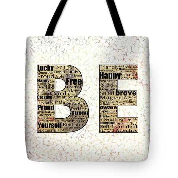 Be Inspired Tote Bag by Anastasiya Malakhova