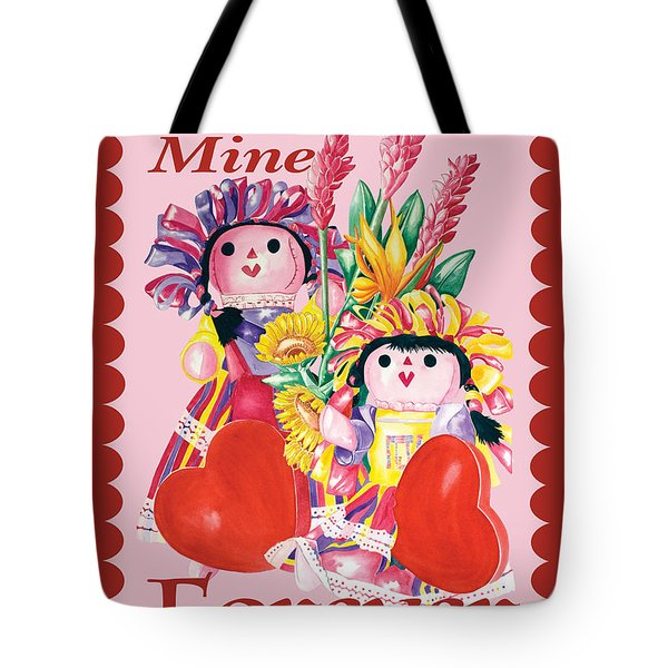 Be Mine-forever Tote Bag
