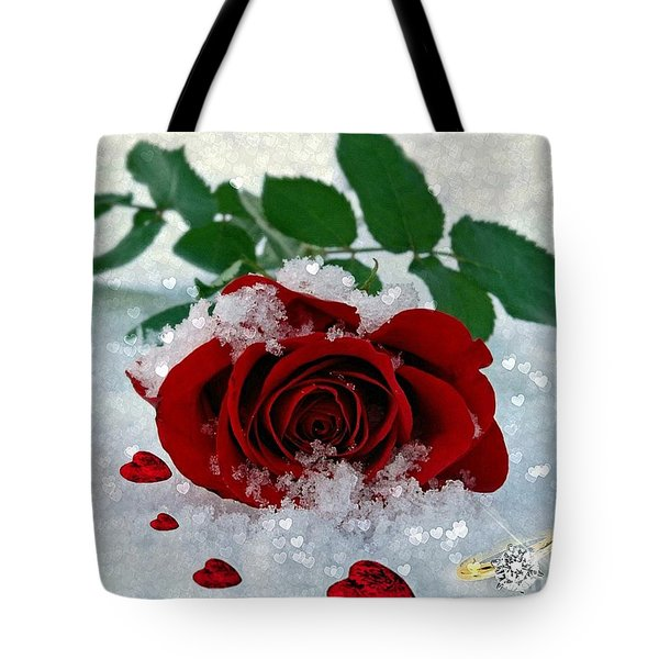 Be Mine Tote Bag by Morag Bates