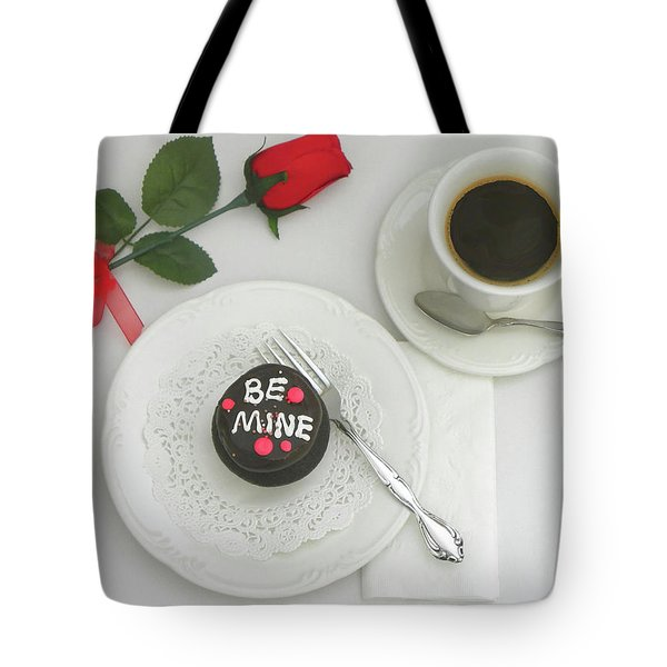 Tote Bag featuring the photograph Be Mine by Sandi OReilly