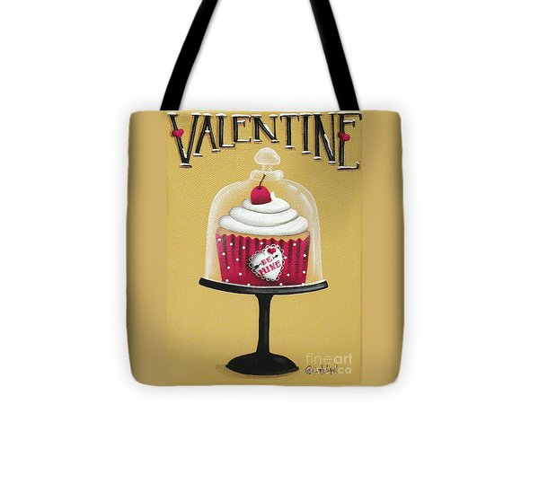 Be Mine Valentine Tote Bag by Catherine Holman