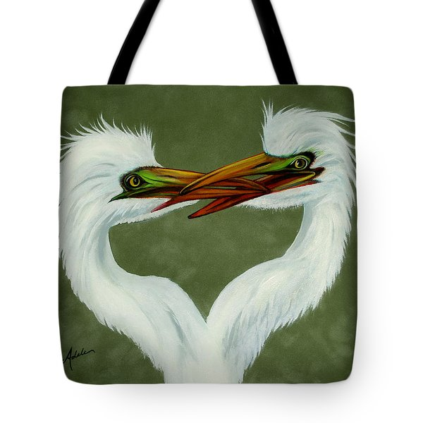 Be My Valentine Tote Bag by Adele Moscaritolo