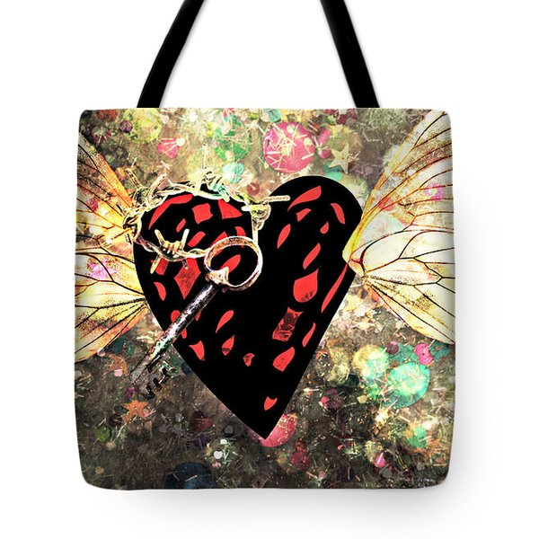 Tote Bag featuring the photograph Be My Valentine by Ally  White
