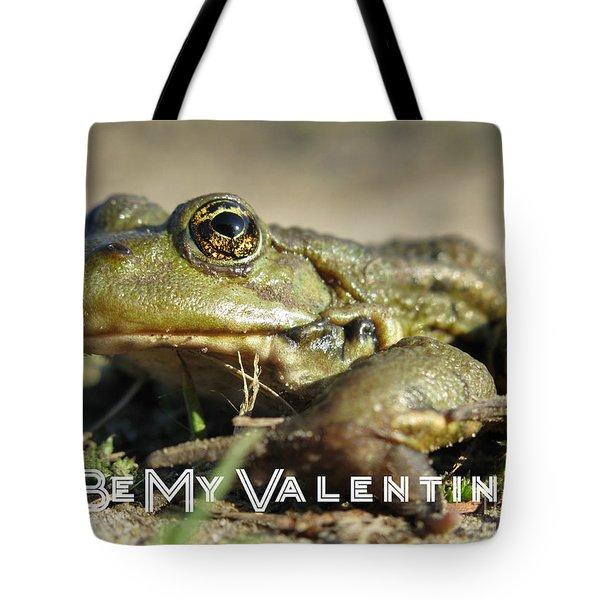 Be My Valentine Tote Bag by Ausra Huntington nee Paulauskaite