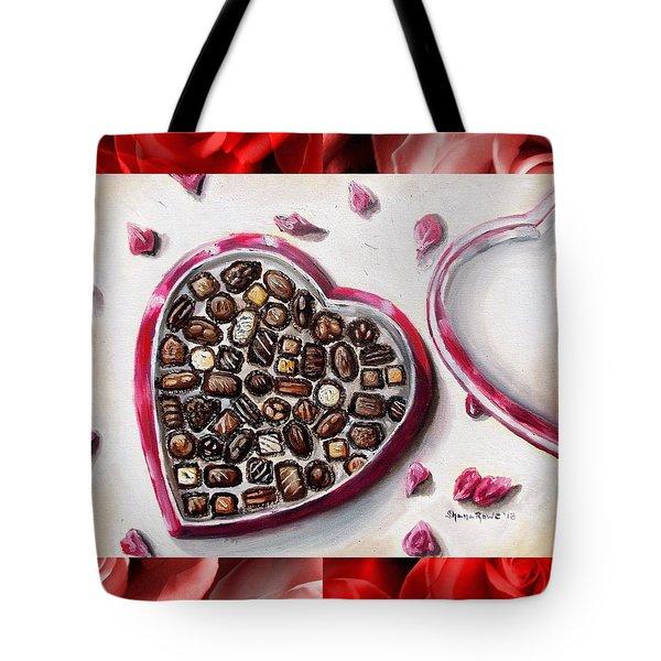 Be My Valentine Tote Bag by Shana Rowe Jackson