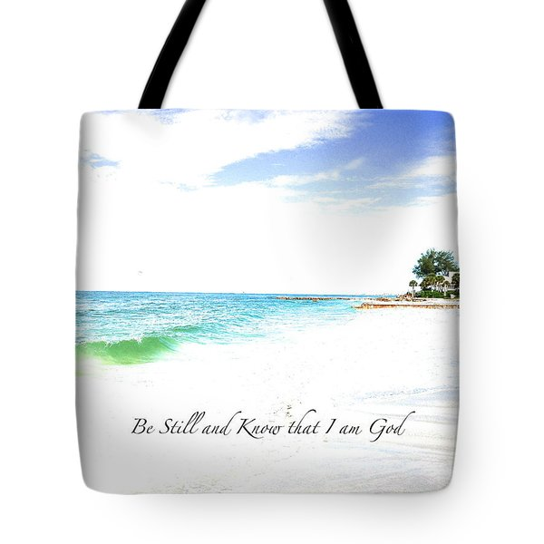 Be Still #3 Tote Bag by Margie Amberge