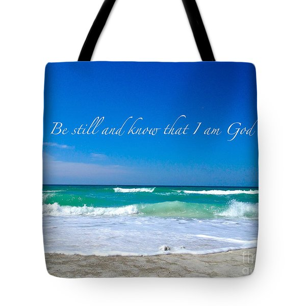 Be Still #4 Tote Bag