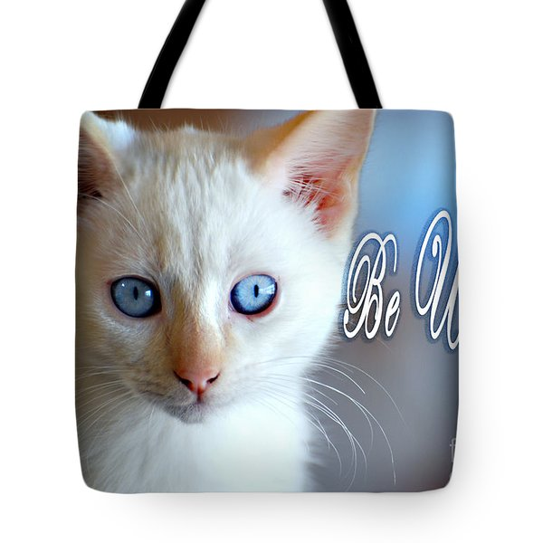 Be U Ti Ful Tote Bag by Linda Cox