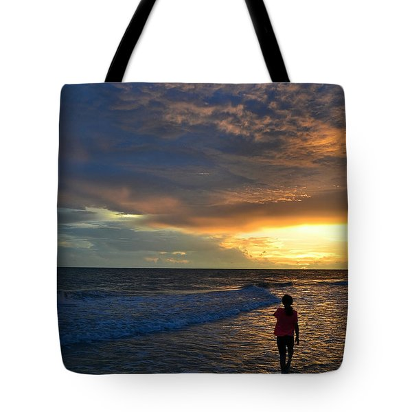 Tote Bag featuring the photograph Be Wonderful... Because You Are by Melanie Moraga