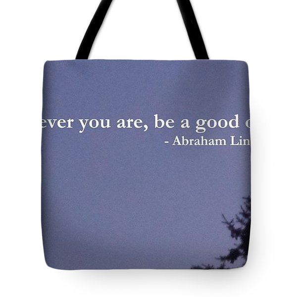 Be Your Best                  Tote Bag by Christina Verdgeline