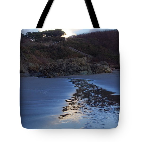 Tote Bag featuring the photograph Beach Access by Adria Trail