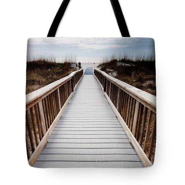 Beach Access Hilton Head Tote Bag
