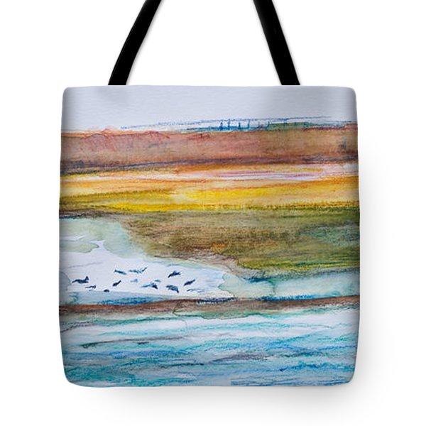 Beach And Sea Tote Bag