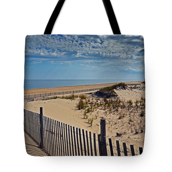 Beach At Cape Henlopen Tote Bag