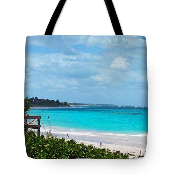 Beach At Tippy's Tote Bag