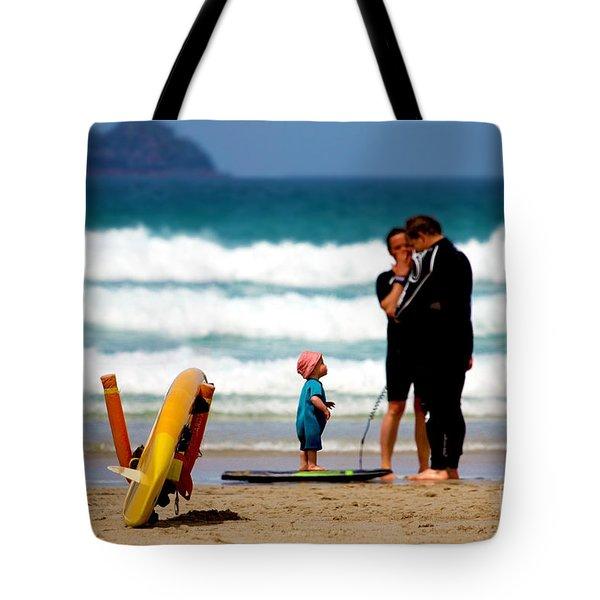 Beach Baby Tote Bag by Terri Waters