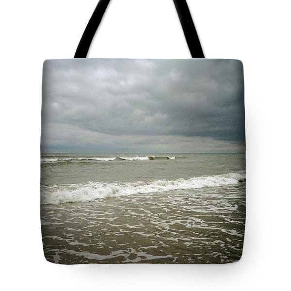 Tote Bag featuring the photograph Beach Before The Storm by Carol Whaley Addassi